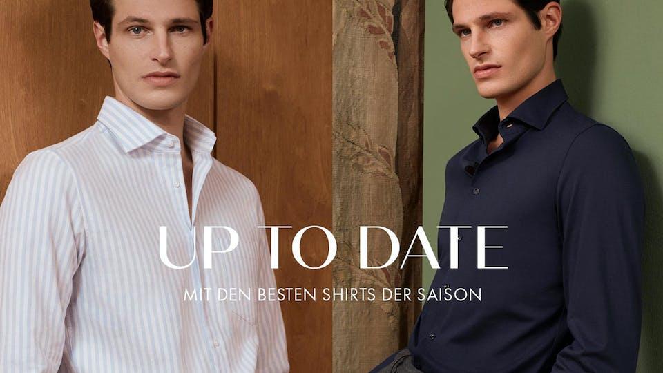 Up to Date - Mit den besten Shirts der Saison | Seidensticker