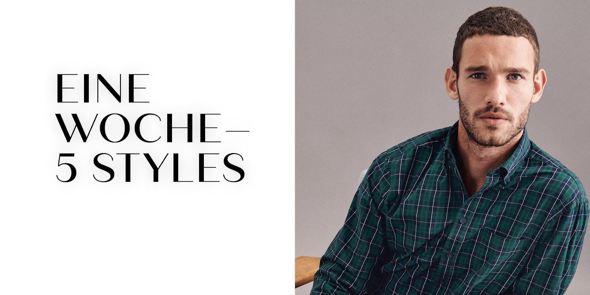 Eine Woche - 5 Styles Herren | Seidensticker