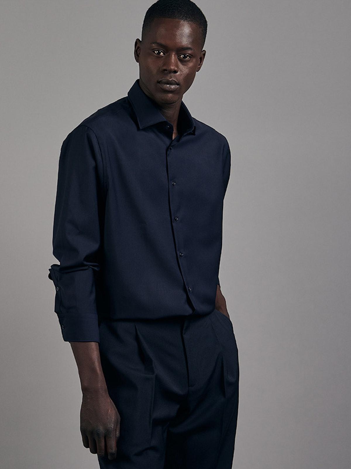 Einfarbige Business Hemden | Seidensticker