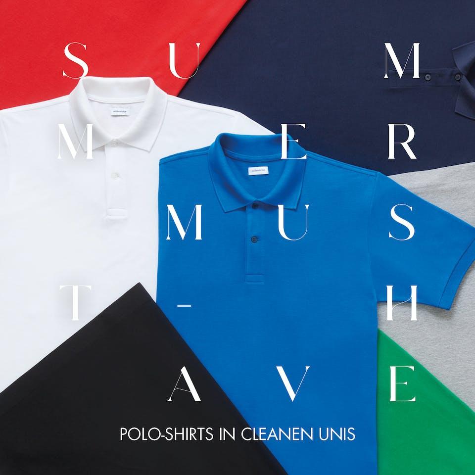Polo-Shirts in cleanen Unis  Seidensticker