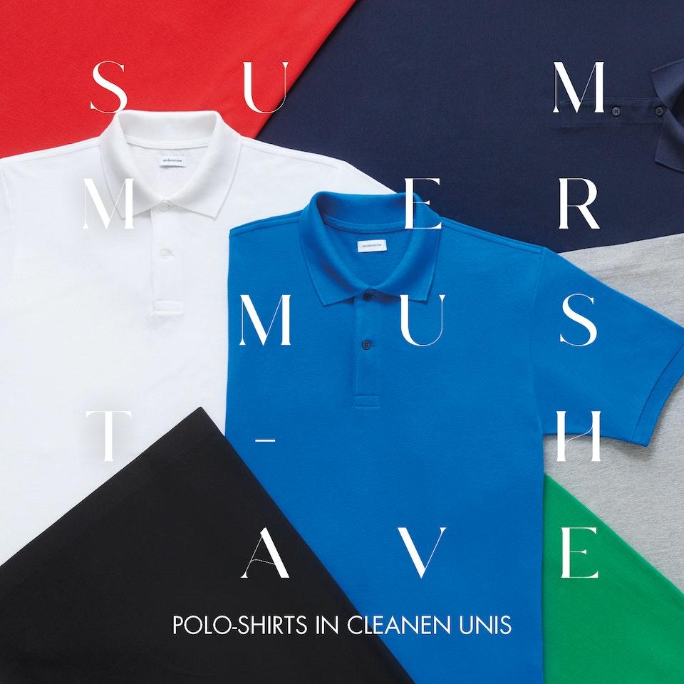 Polo-Shirts in cleanen Unis| Seidensticker