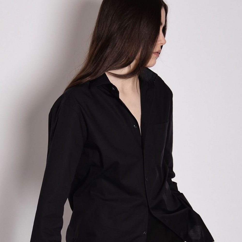Plain-coloured blouses Instashop | Seidensticker