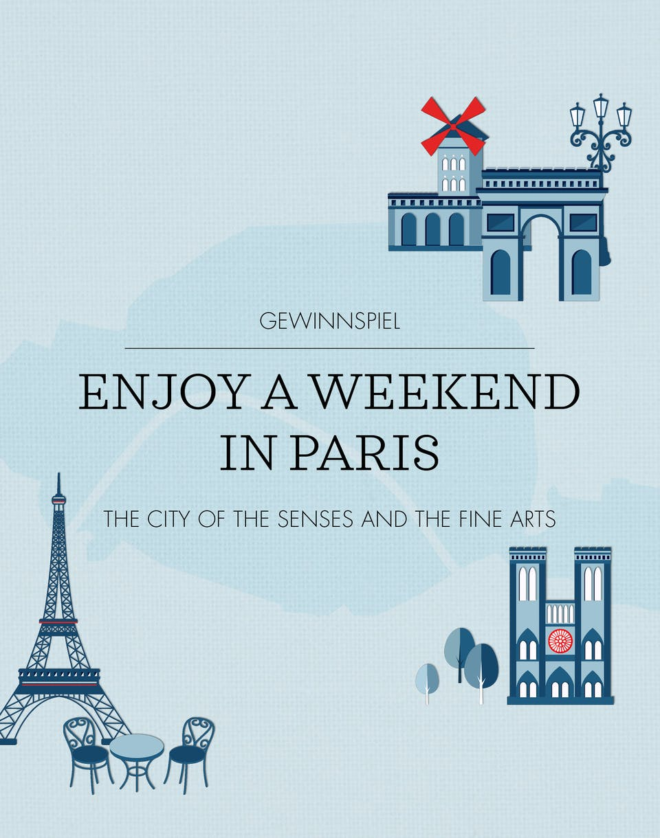 Enjoy a Weekend in Paris | Seidensticker