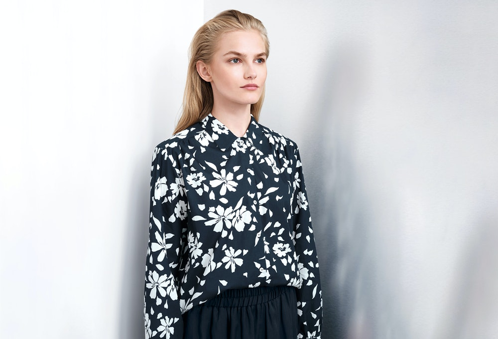 Blouses with floral print | Seidensticker