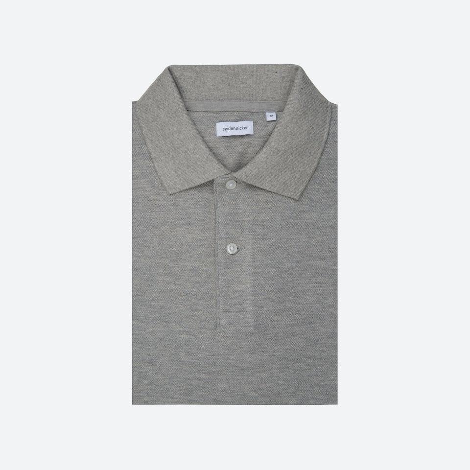 Polo-Shirt Grau | Seidensticker