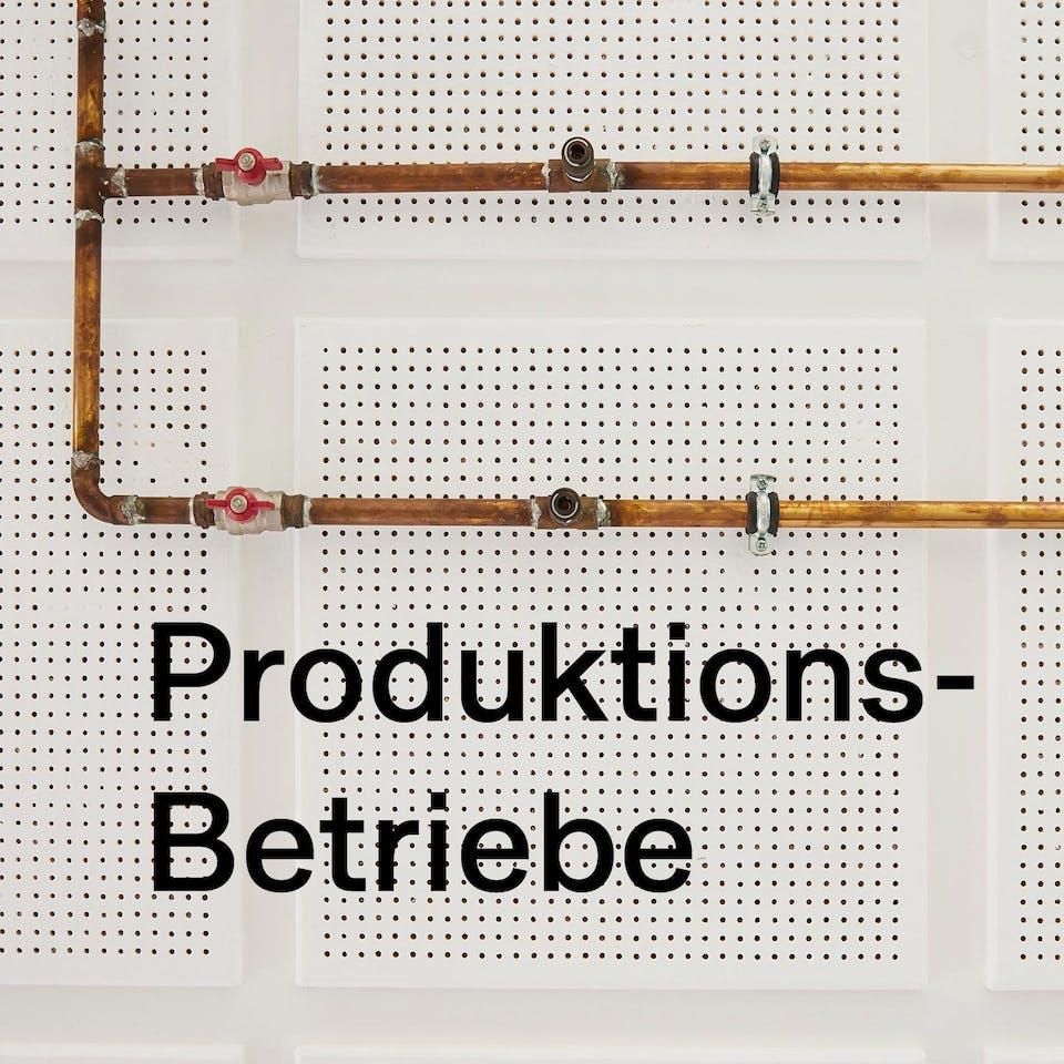 Produktionsbetriebe | Studio Seidensticker