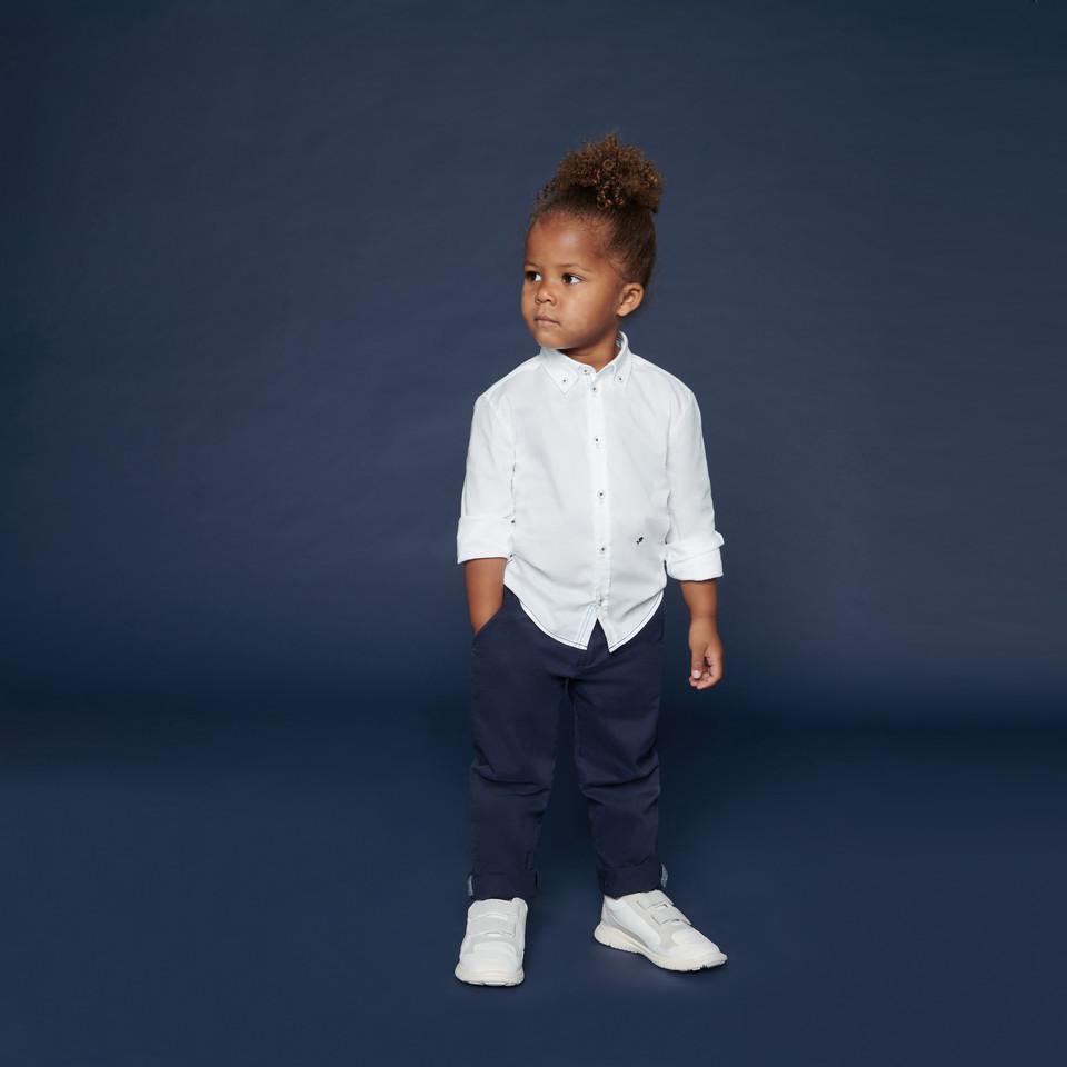 Weißes Kinderhemd | Seidensticker