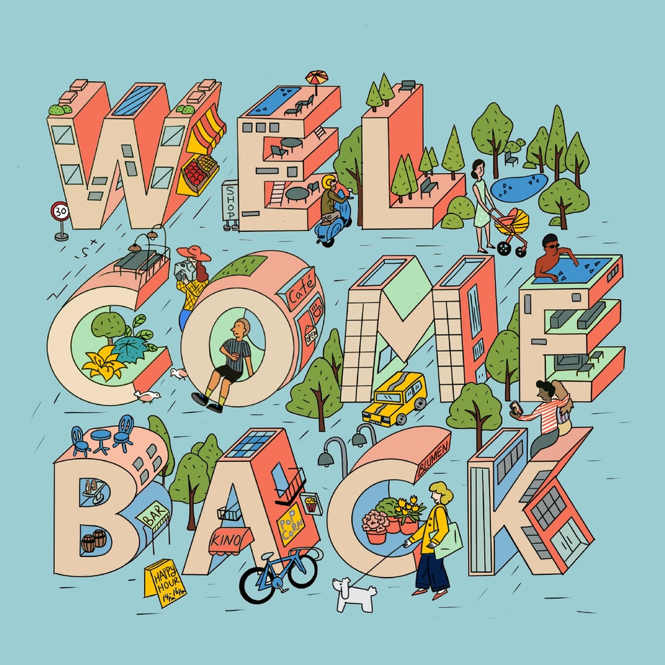 Welcome Back | Seidensticker