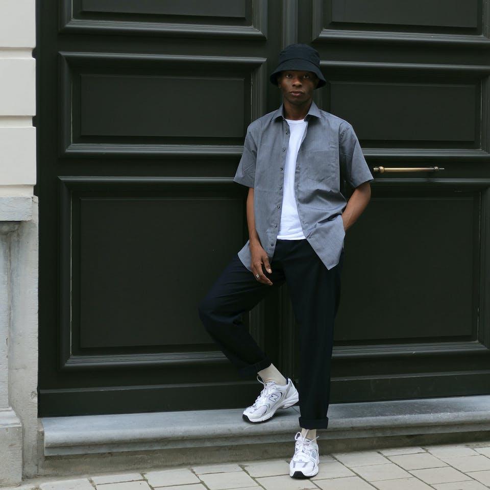#3- The Grey Shirt | Seidensticker