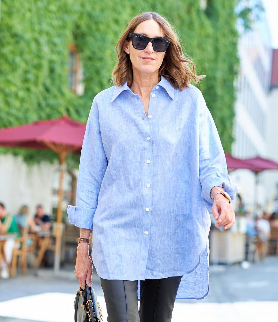 Uni in Hellblau glam-o-meter Bluse | Seidensticker
