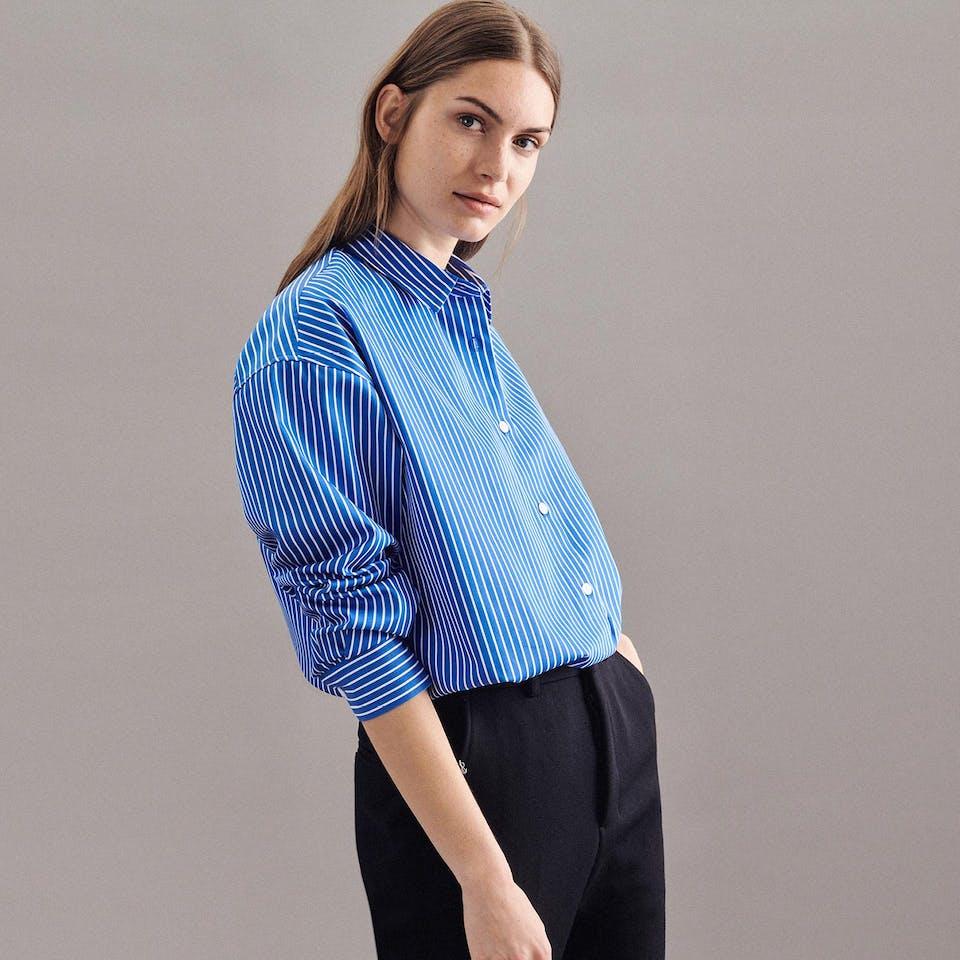 Die Oversize Bluse | Seidensticker