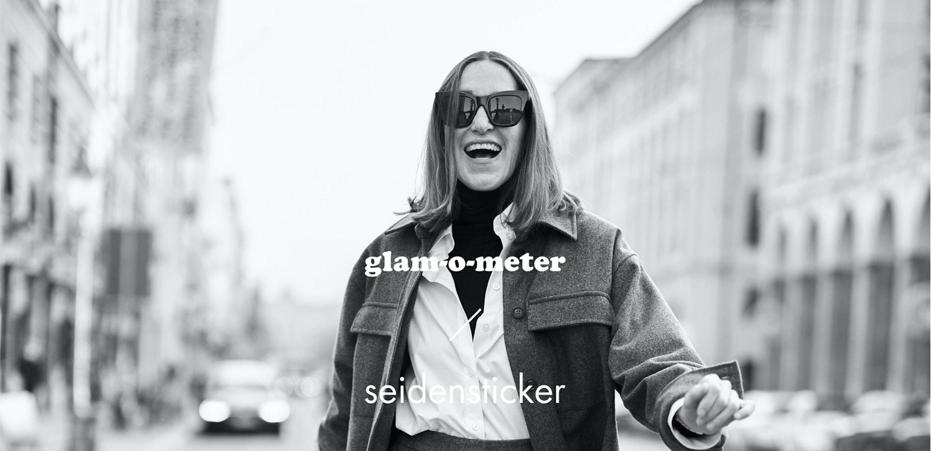 Glam-o-Meter x Seidensticker