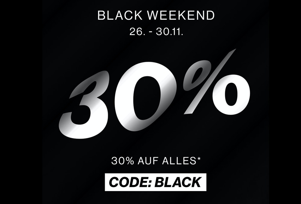 Black Weekend - 30% auf Alles - Code: BLACK | Seidensticker