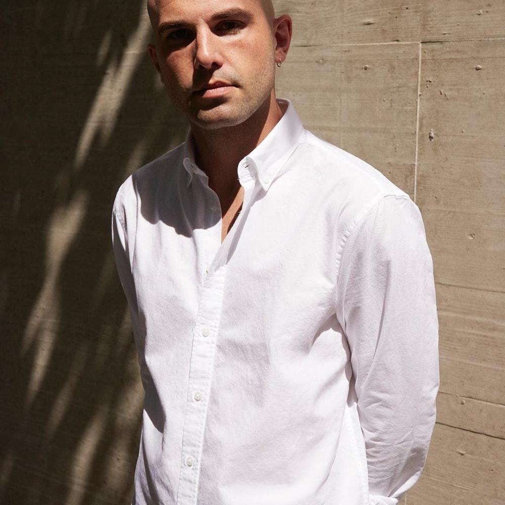 Bügelleichtes Oxford Business Hemd in Regular mit Button-Down-Kragen   Seidensticker