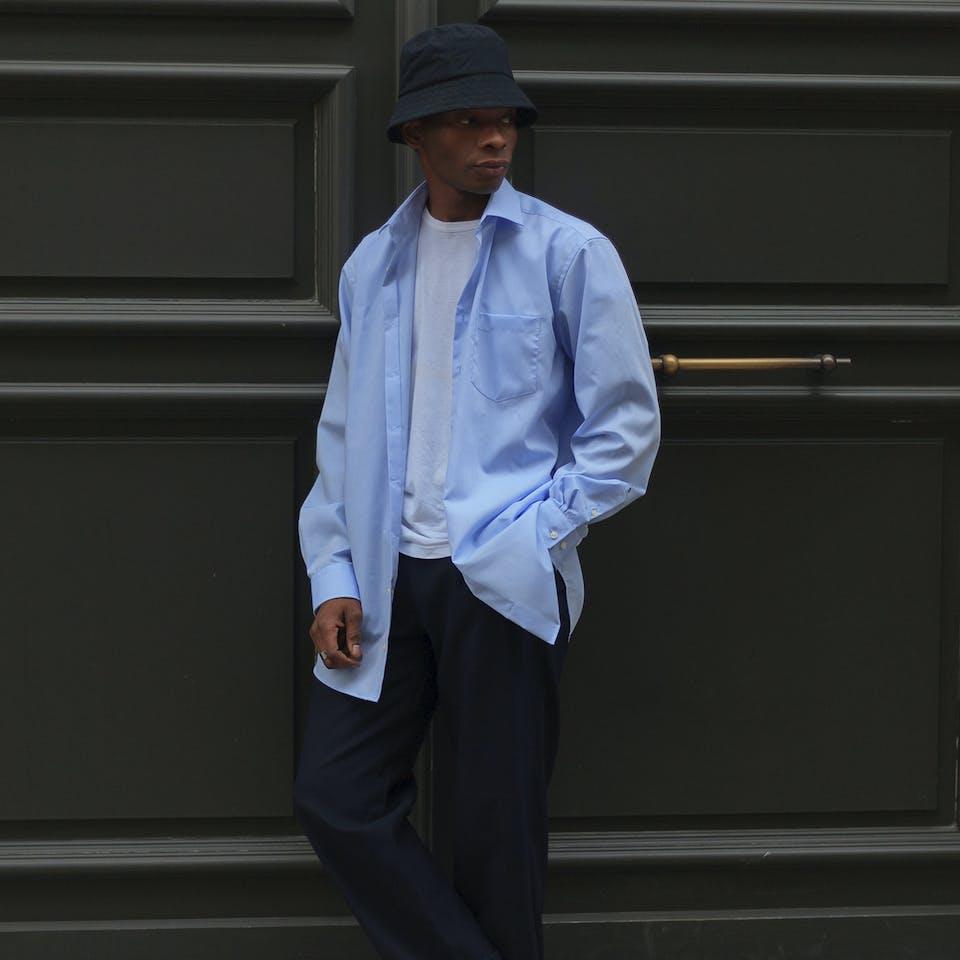 #2- The Blue Shirt | Seidensticker