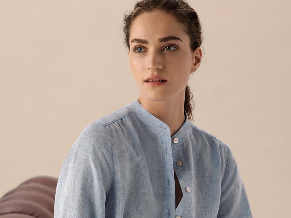 Stand-up collar | Blouses Guide | Seidensticker