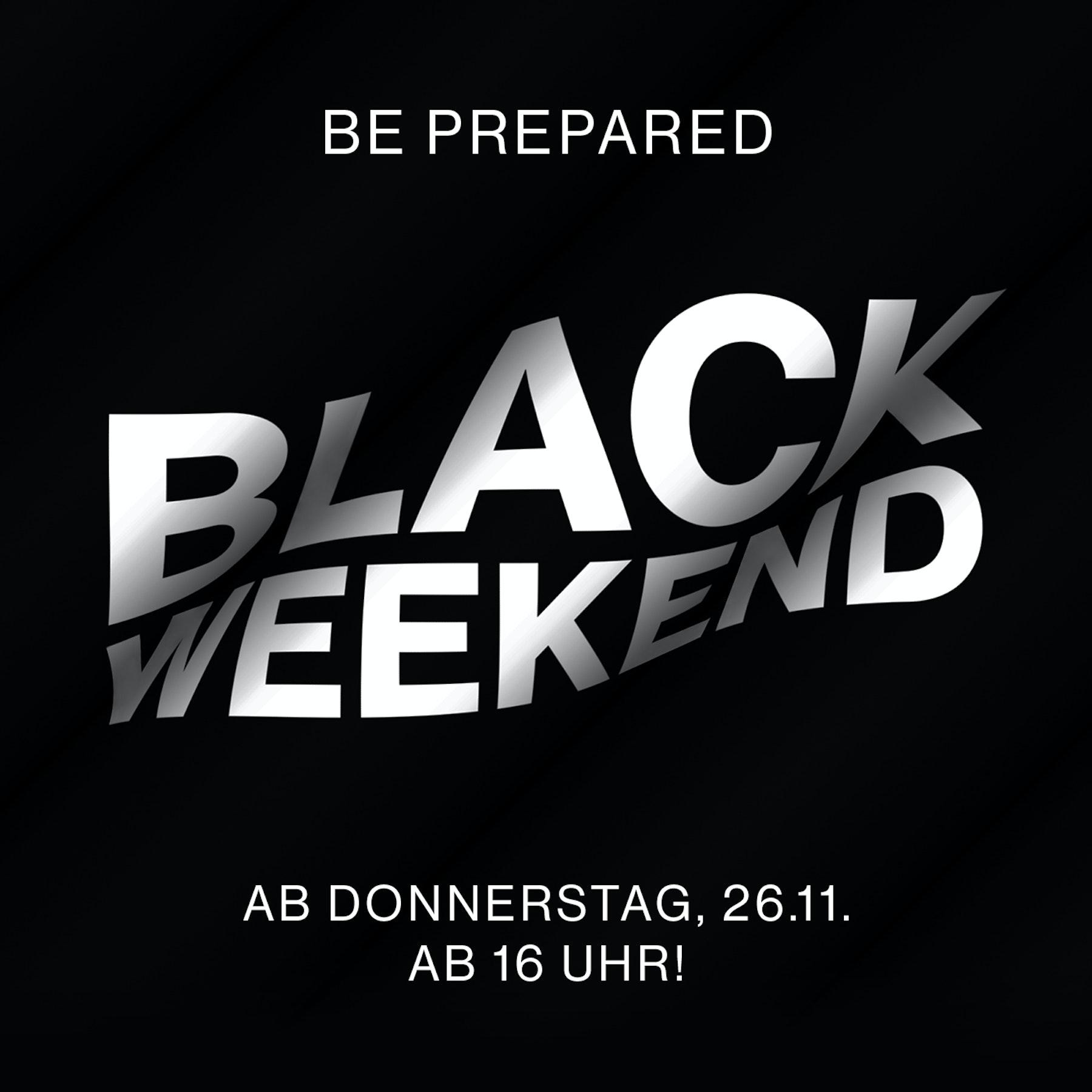 Be prepaired Black Weekend | Seidensticker