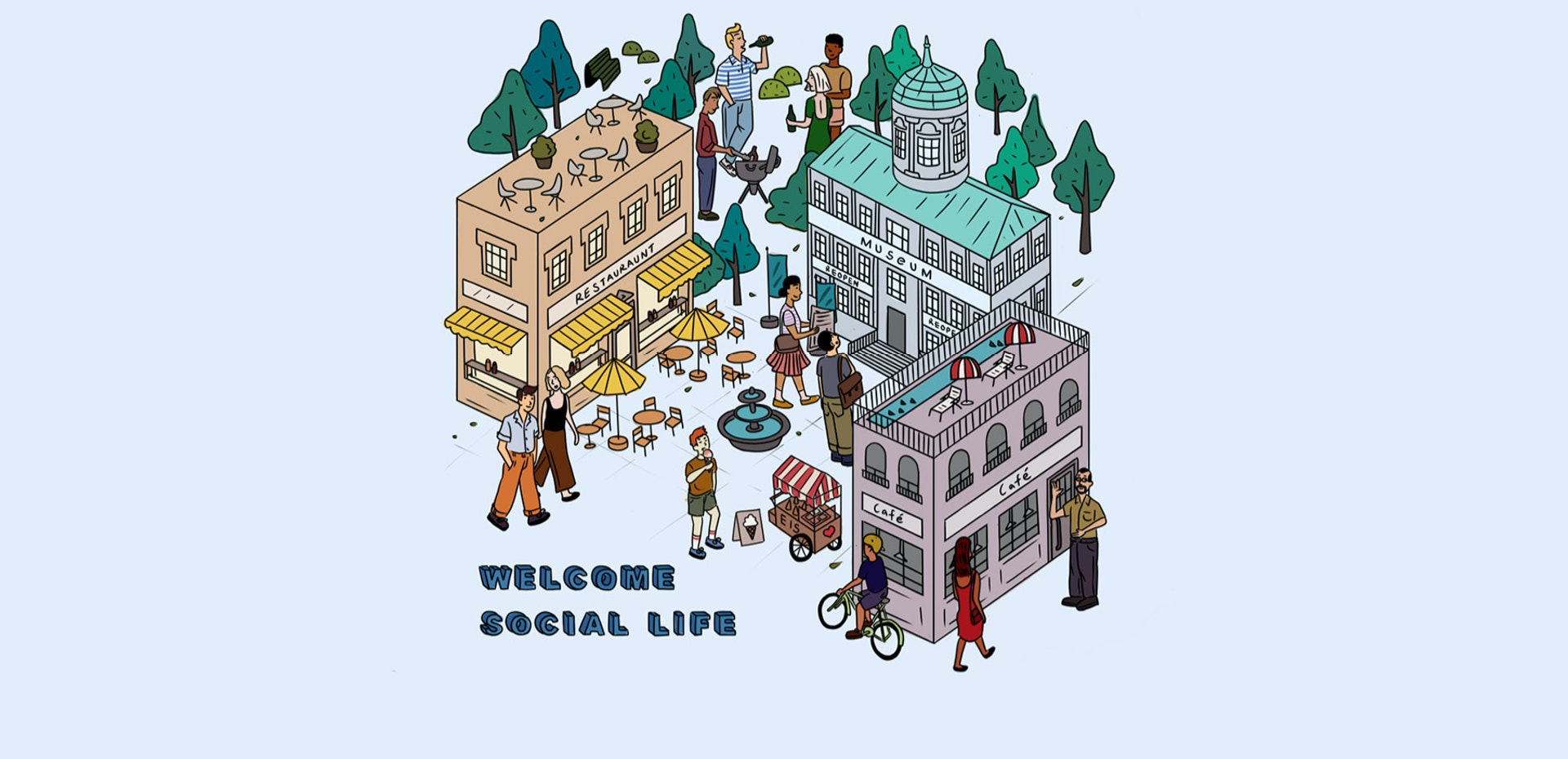 Welcome Social Life | Seidensticker