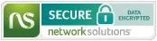 Network Solutions Secure Data Encrypted