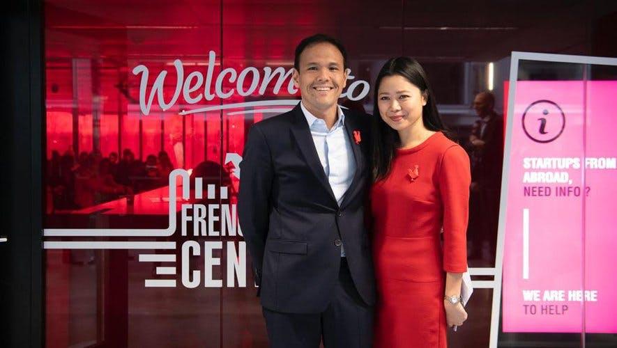 Cédric O et Kat Borlongan, French Tech