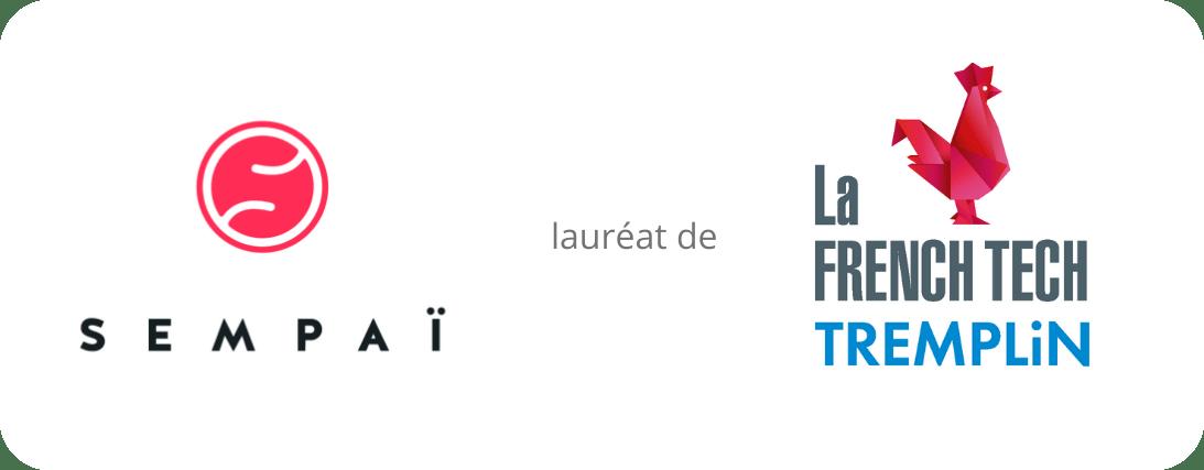 Logos de sempai.io et La French Tech Tremplin
