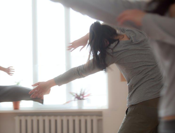 mouvements libres dansés