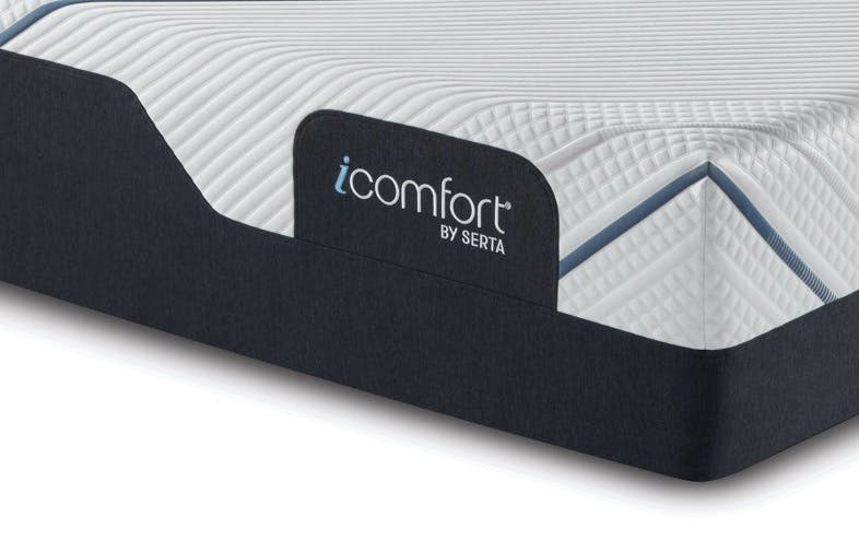 Foot of iComfort mattress