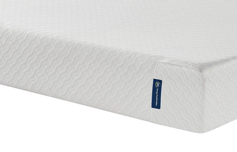 Foot of EZ Tote Mattress