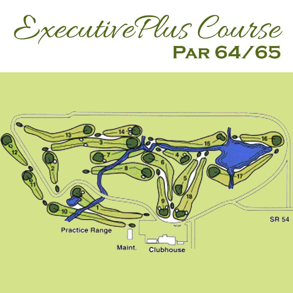 Executive Plus Course Par 64/65