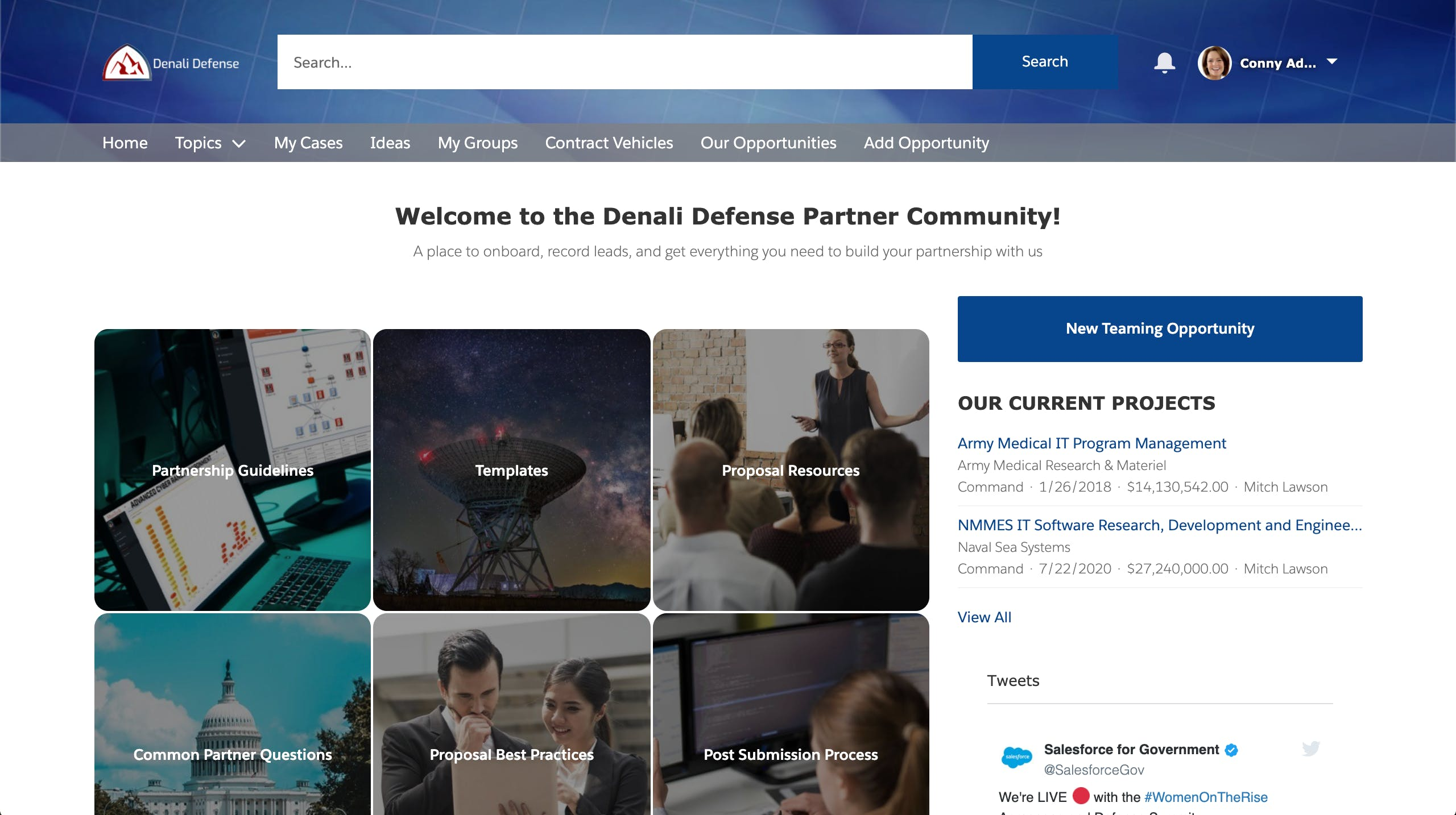 Roll Out a Partner Portal