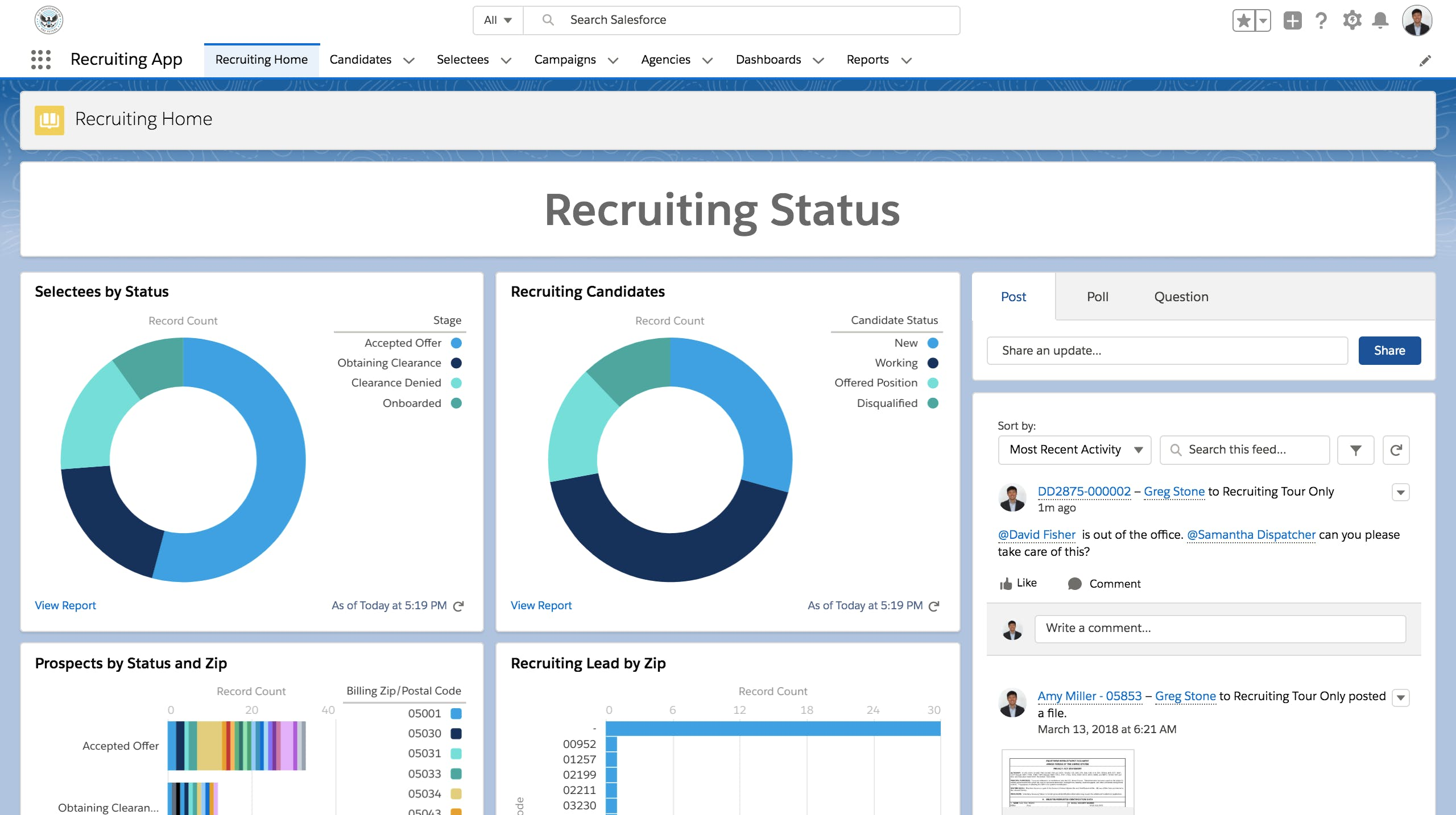 Recruit with Innovative Tools