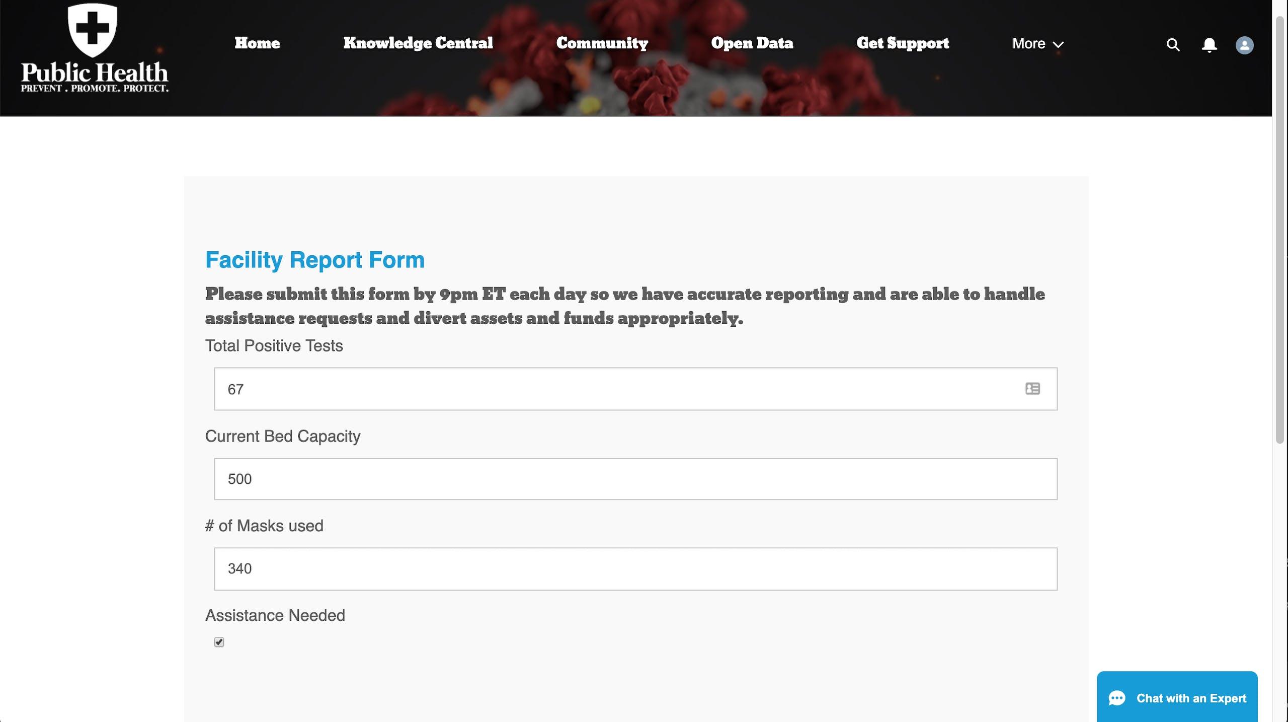 Capacity Reporting