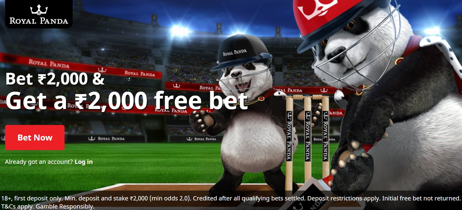 Royal Panda India - betting app and free bet