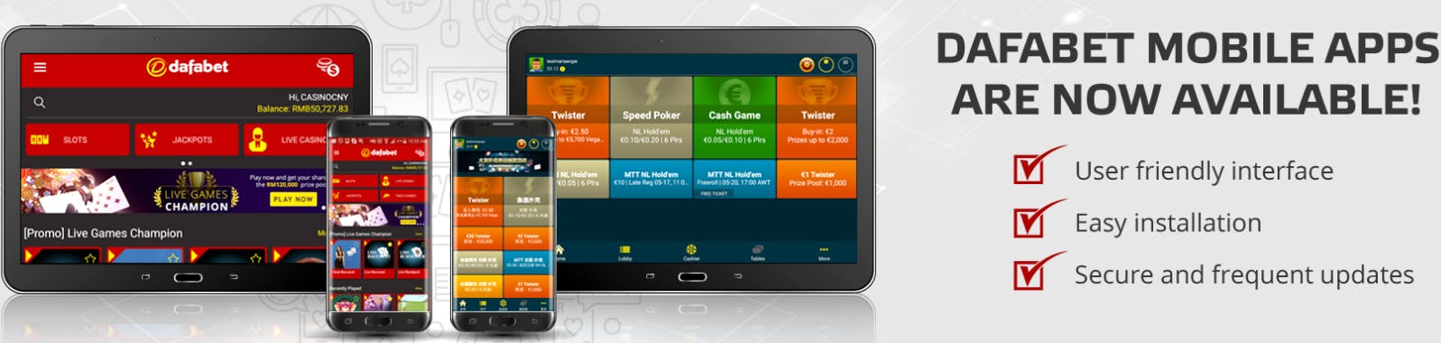 Dafabet betting apps in india