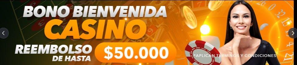 Ejemplo de bono de casino en Yajuego.