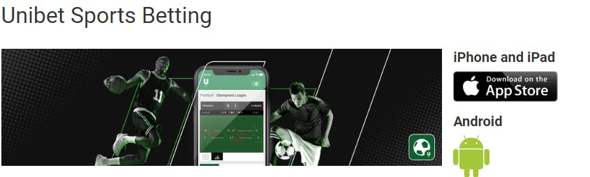 Unibet betting apps for players from India