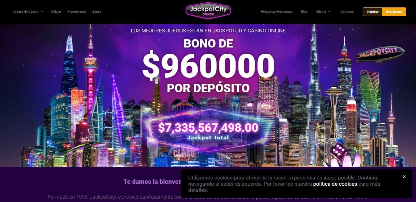 Ejemplo de un bono de casino online disponible en Chile