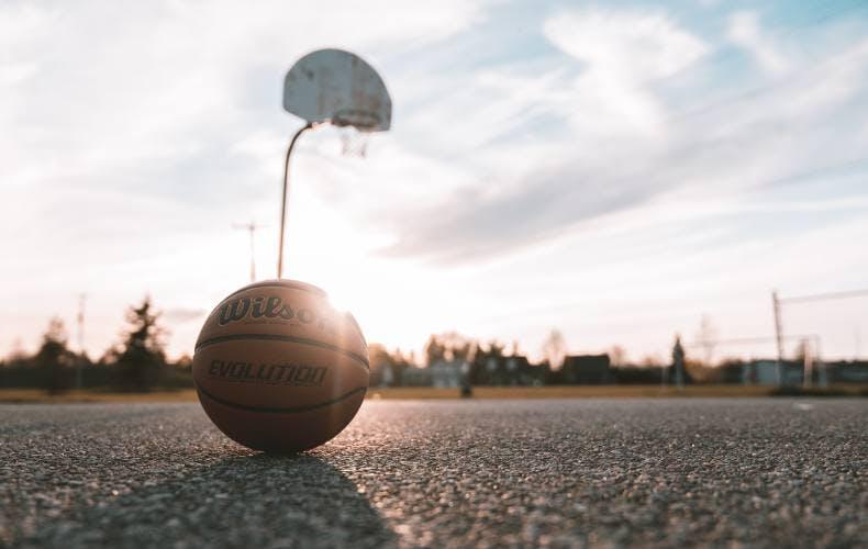Cancha de baloncesto