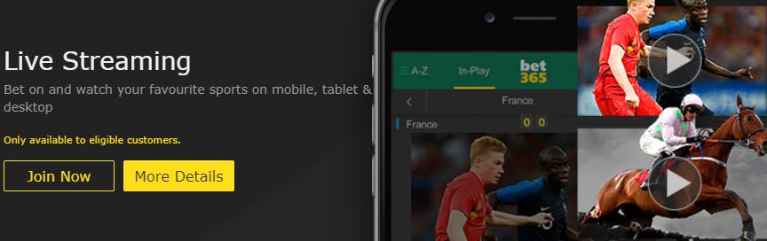 bet365 betting app for live streaming