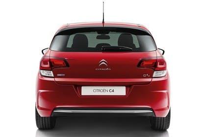 Citroën C4 N Aussenansicht Heck statisch Studio rot