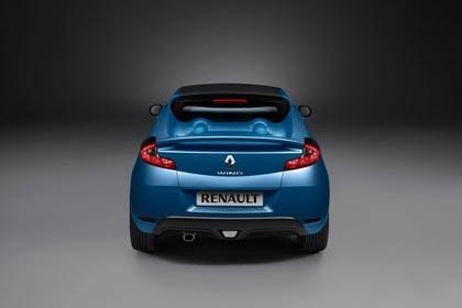 Renault Wind N Aussenansicht Heck statisch Studio blau