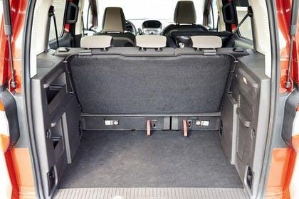 Ford Tourneo Courier JU2 Innenansicht Kofferraum
