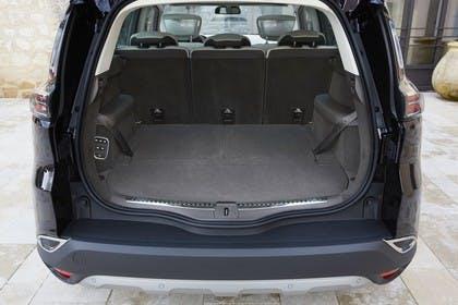 Renault Espace RFC Innenansicht statisch Kofferraum