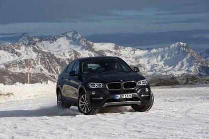BMW X6 F16 Aussenansicht Front statisch schwarz
