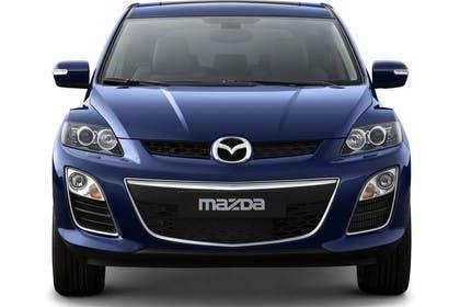 Mazda CX-7 Studio Aussenansicht Front statisch blau
