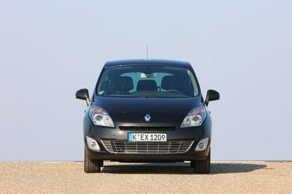 Renault Grand Scenic JZ Aussenansicht Front statisch schwarz