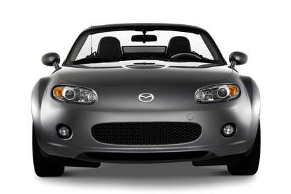 Mazda MX-5 NC Studio Aussenansicht Front statisch grau