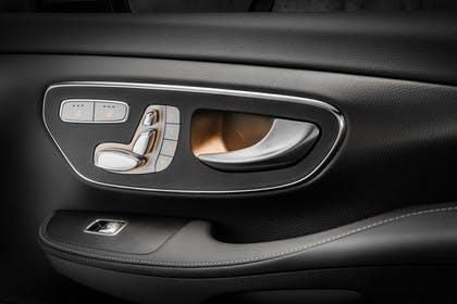 Mercedes V-Klasse 447 Innenansicht Detail Sitzverstellung statisch schwarz