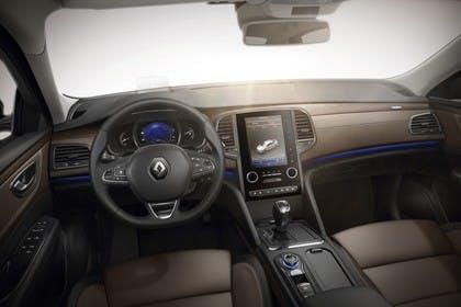 Renault Talisman Grandtourer (RFD) Innenansicht statisch Studio Vordersitze und Armaturenbrett