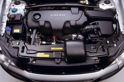 Volvo XC90 Aussenansicht Detail Motorraum Studio statisch silber